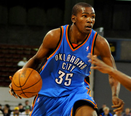 Kevin Durant and the Rolling Thunder